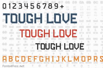 Tough Love Font