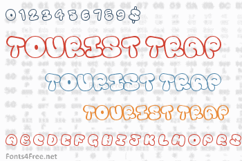 Tourist Trap Font