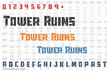 Tower Ruins Font