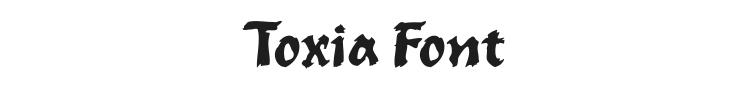 Toxia Font