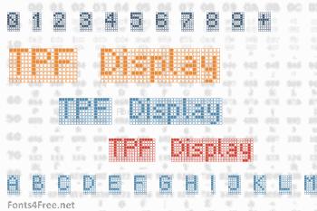 TPF Display Font
