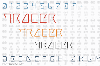 Tracer Font