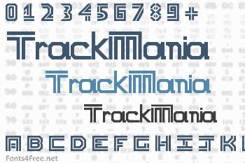 TrackMania Font