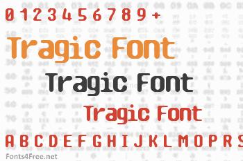Tragic Font