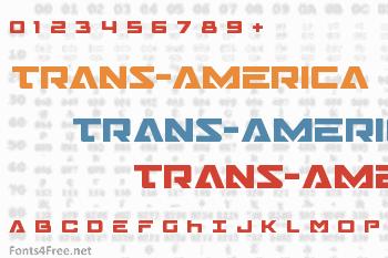 Trans-America Font
