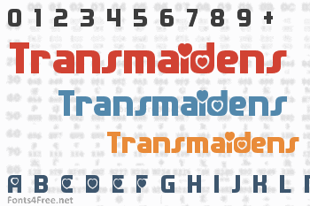 Transmaidens Font