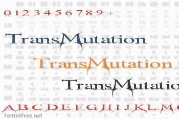 TransMutation Font