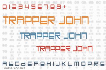 Trapper John Font