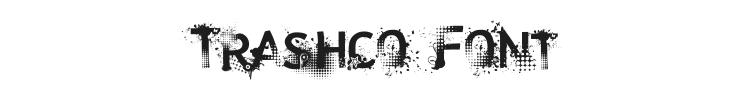 Trashco Font Preview