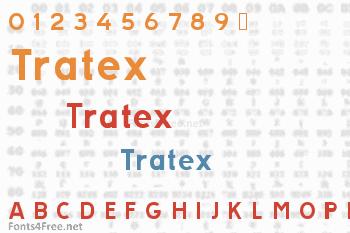 Tratex Font