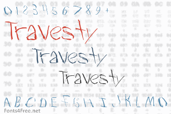 Travesty Font