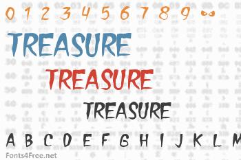 Treasure Font