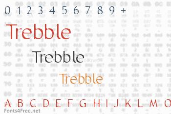 Trebble Font