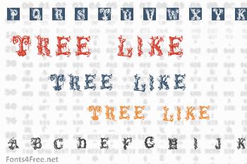 Tree Like Font