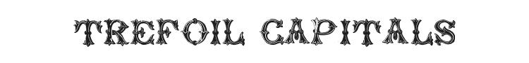 Trefoil Capitals Font