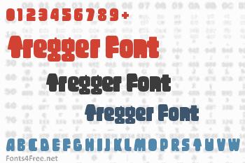 Tregger Font