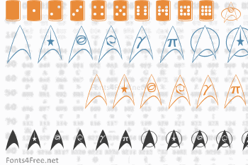 Trek Arrowheads Font