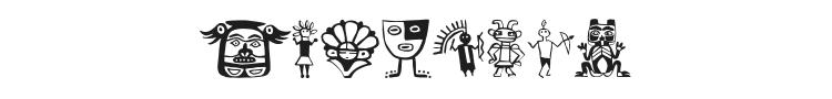 Tribalistica Figures