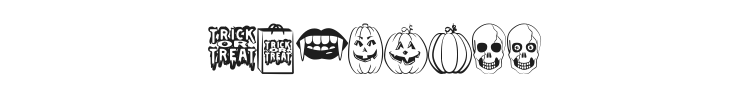 Trick or Treat Font Preview