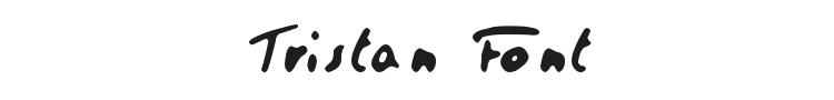 Tristan Font Preview