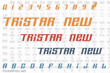 Tristar New Font