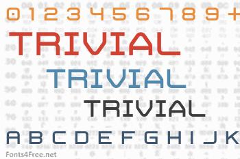 Trivial Font
