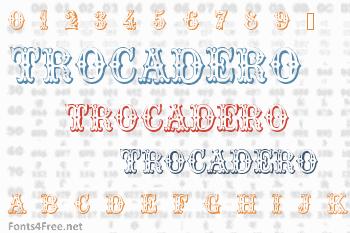 Trocadero Font