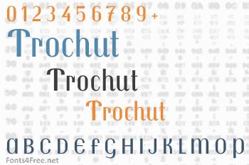 Trochut Font