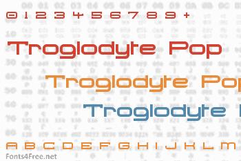 Troglodyte Pop Font