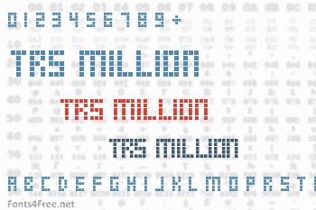 TRS Million Font