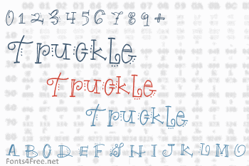 Truckle Font