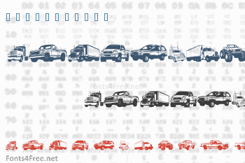 Trucks For Judy Font