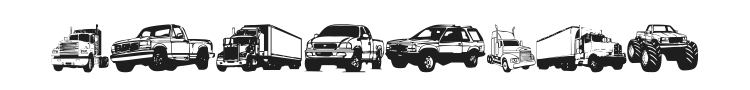 Trucks For Judy Font