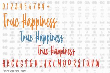 True Happiness Font