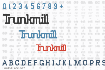 Trunkmill Font