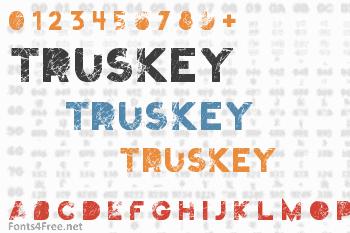 Truskey Font