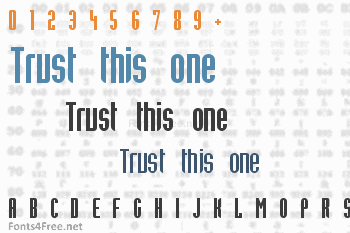Trust this one Font
