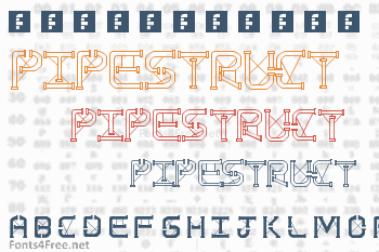 TS PipeStruct Plus Font