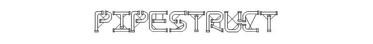 TS PipeStruct Plus Font