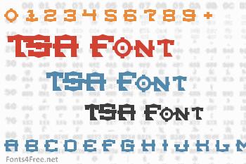 TSA Font