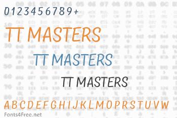 TT Masters Font