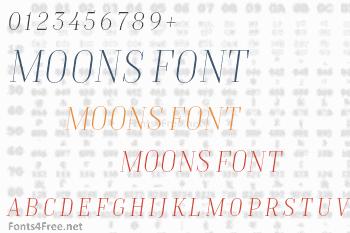 TT Moons Font