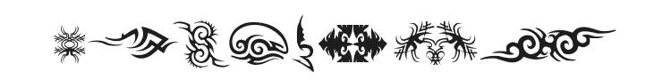 TTF Tattoef Font Preview