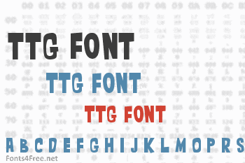 TTG Font