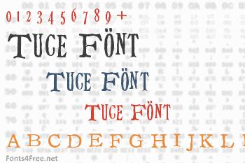 Tuce Font