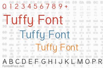Tuffy Font