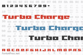 Turbo Charge Font