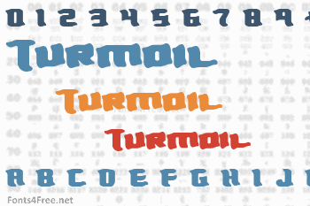 Turmoil Font