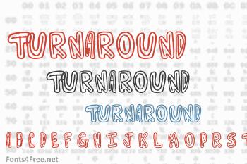 Turnaround Font
