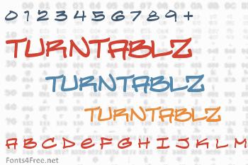Turntablz Font